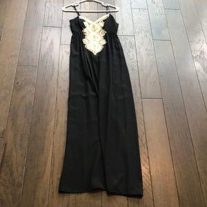 Lilly Pulitzer Kelsea Silk Maxi Dress 00